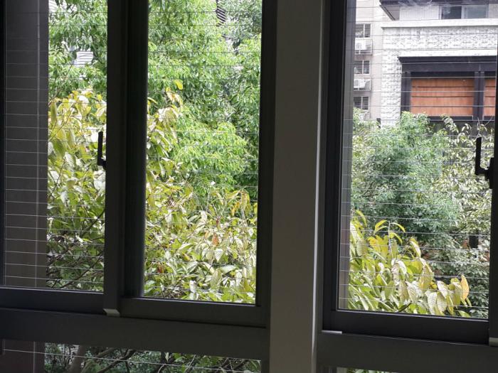 隱形鐵窗―窗戶