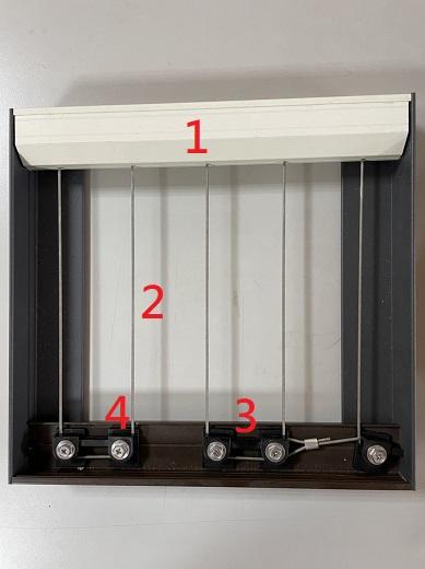隱形鐵窗―產品說明圖