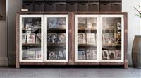 櫥櫃鋁框玻璃門