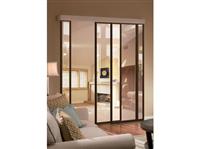 客廳鋁框玻璃推拉門