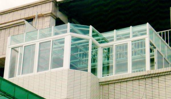 採光罩-玻璃屋