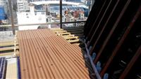 塑木地板-台北市阿曼社區