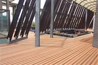 新北市泳池塑木地板