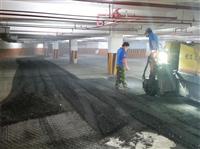 地下室停車場鋪設瀝青混凝土-3