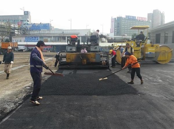 瀝青混凝土路面施工、瀝青混凝土施工-2