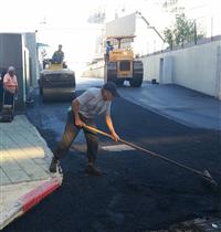 瀝青混凝土路面施工、柏油施工