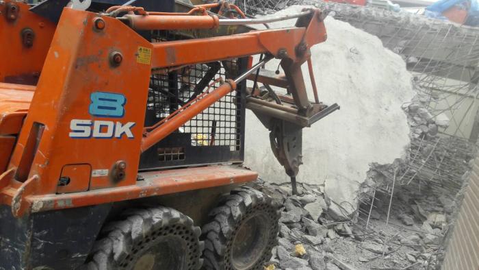 打石工、拆除工