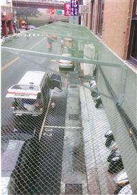 外牆磁磚防墜網