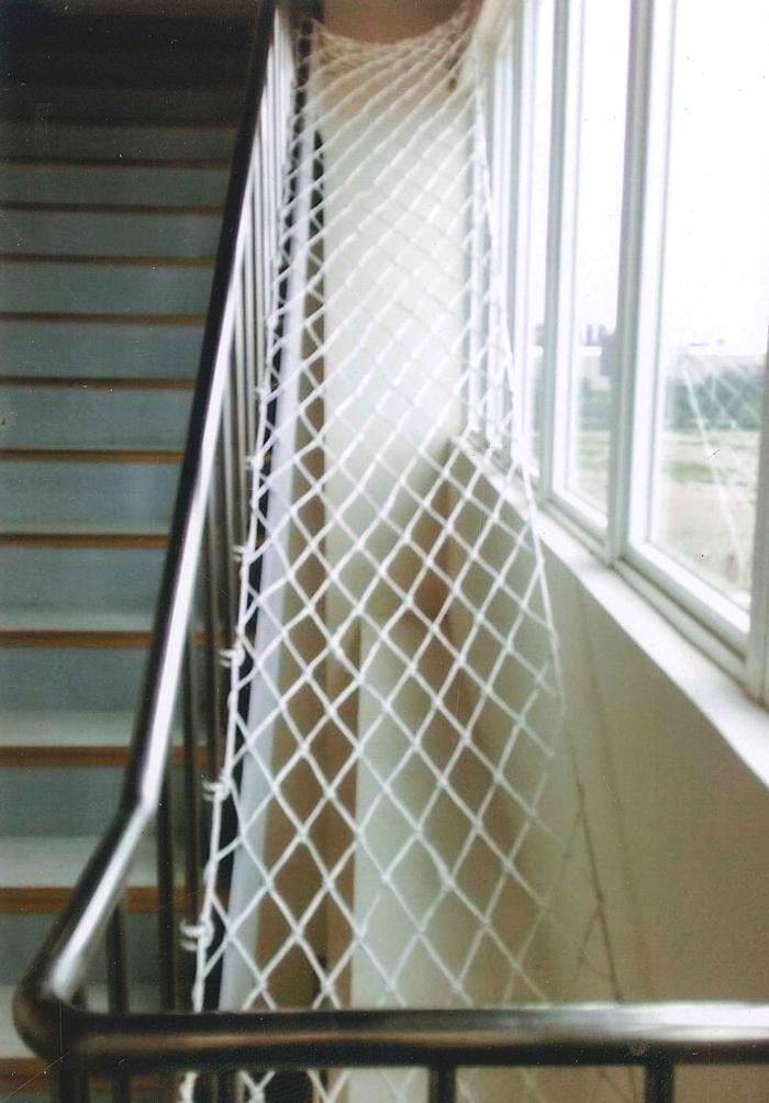 樓梯間防墜網工程