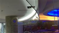 商業空間圓弧形防煙垂壁