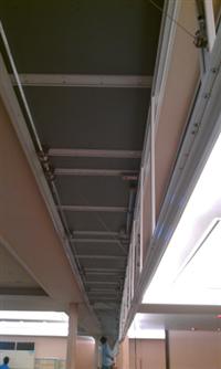 電動式防煙垂壁