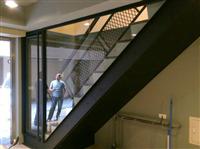 金屬烤漆扶手樓梯