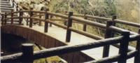 燒杉面水泥拱形橋