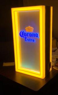 Corona啤酒 音感燈箱