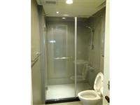 浴廁乾濕玻璃隔間
