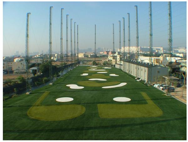 高爾夫練習場整體設計施工、高爾夫練習場-藍鵲休閒俱樂部