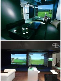 室內高爾夫電腦模擬系統