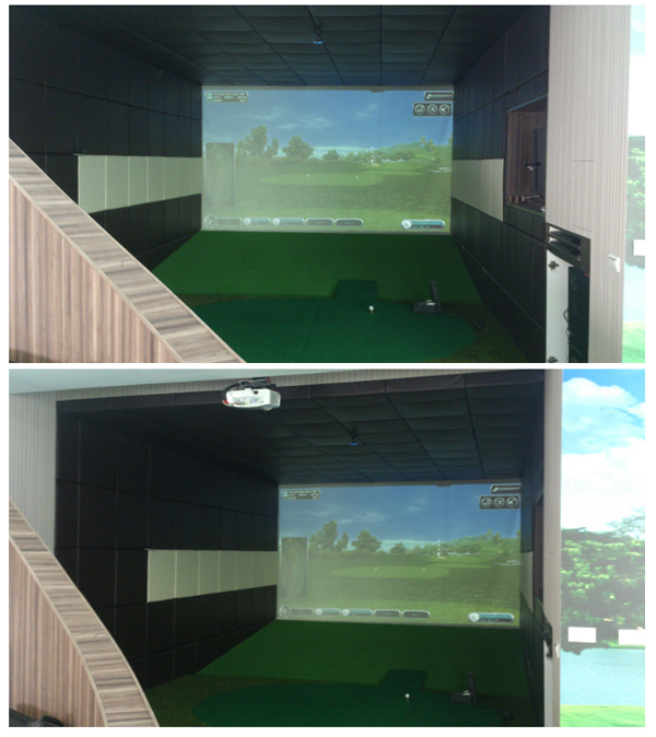 室內高爾夫電腦模擬系統-豐原游府