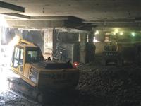 地下室逆打拆除施工