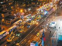 忠孝西路公車道拆除工程