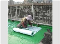 鋪設不織布防水材料