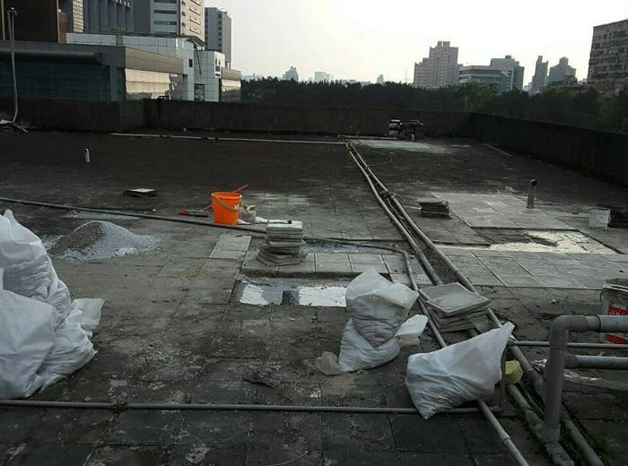 屋頂地坪打除