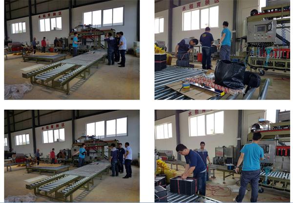 秧苗箱自動疊棧機、秧苗自動疊棧機安裝施工