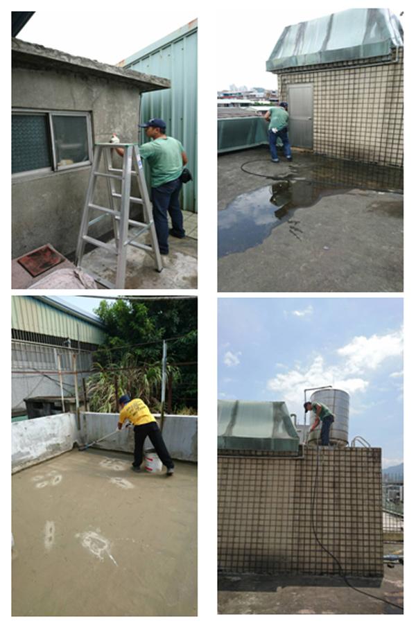 屋頂防水工程、屋頂防水隔熱工程