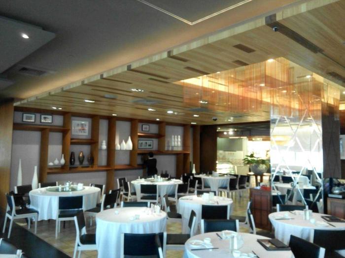 中式餐廳空間設計裝潢