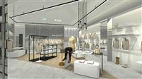 商場百貨專櫃設計3d示意圖