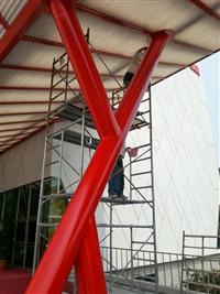 造型鋼構噴漆