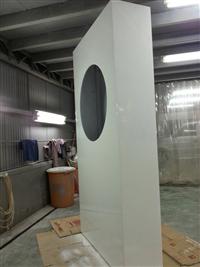 造型展示櫃噴漆