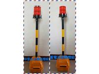 中型大太陽能燈組/蓄電池旋轉燈組警示器