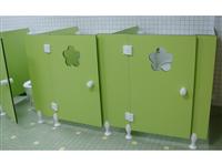 梅花造型隔間廁所