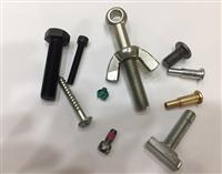 外六角鋼螺絲、內六角耐落螺絲、單眼螺絲、碟帽、雙層釘、 T型螺栓