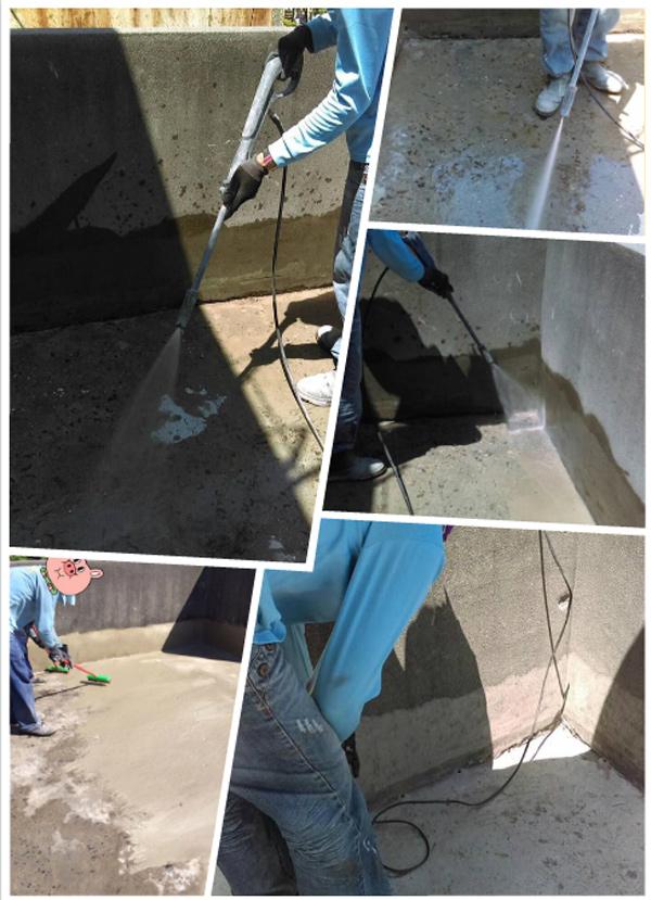 屋頂防水工程、高壓灌注止水