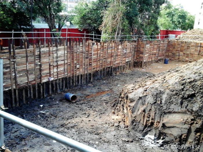 型鋼擋土樁工程