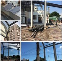 鋼架廠房、H型鋼骨結構工程、鋼骨廠房