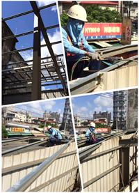 鋼架廠房拆除工程、鋼架拆除工程