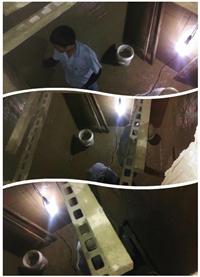 電梯機坑滲透結晶材刷漿塗佈