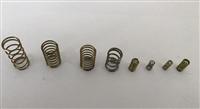 壓縮彈簧、拉伸彈簧、扭力彈簧、渦形彈簧、動力彈簧