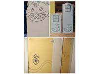 隔間板門扇造型