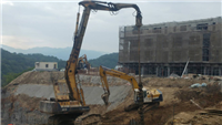 大型建案高強度地質改良