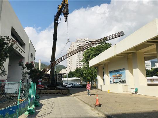 台北護校大口徑基樁L=20米