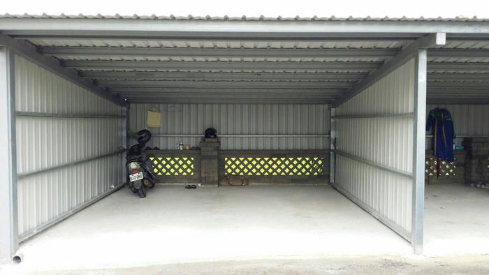 車庫鐵皮屋