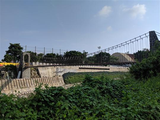 橋索設計施工、吊橋設計施工