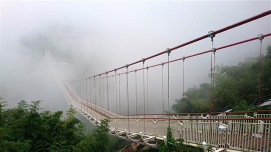 嘉義梅山太平雲梯景觀吊橋