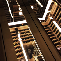 酒窖設計工程、實木酒架