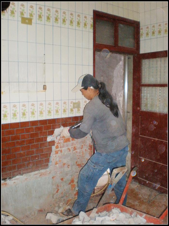 牆壁磁磚拆除工程