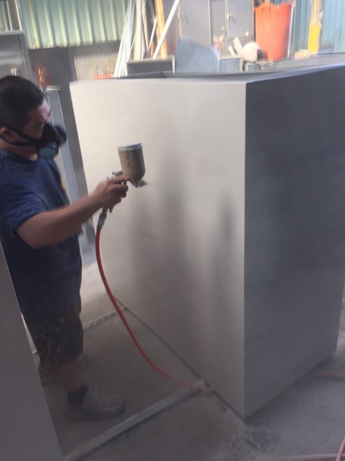 大型機具冷烤漆